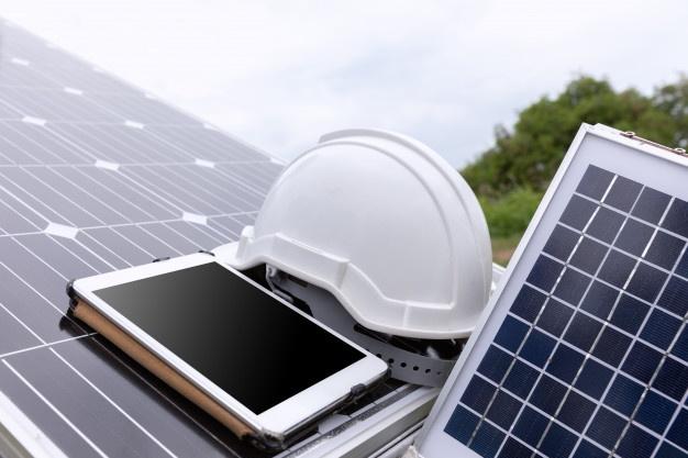 Ustrezna oprema v solarni elektrarni
